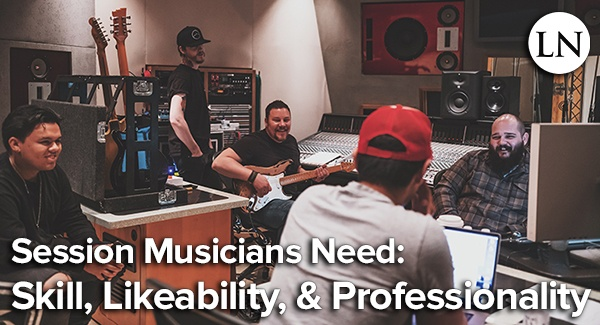 how to become a session musician