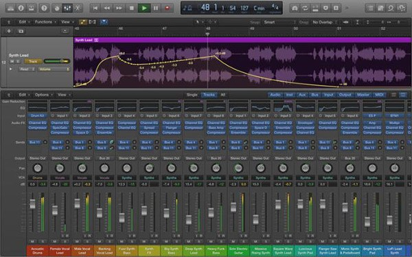 Apple Logic Pro - the best DAW for Mac