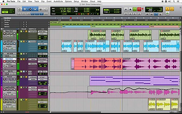 Pro Tools First is a great free audio editor that gives you a glimpse into the professional level of software.