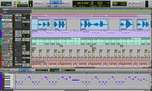 Avid Pro Tools - the best DAW for Windows