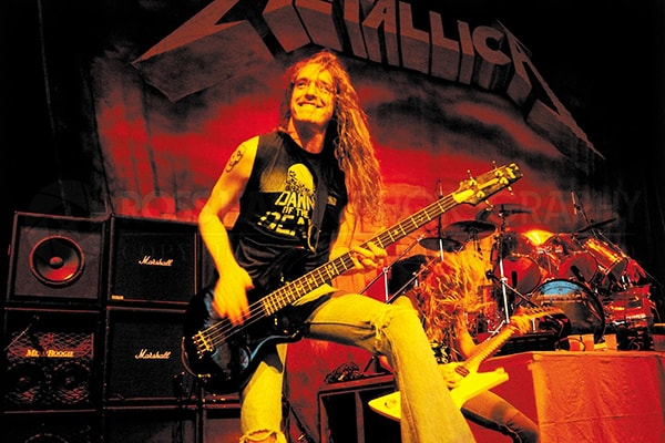 Cliff Burton has proven himself as a top bassist even while playing in a genre that may not give him the opportunity to show it