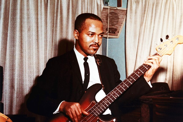 Without a doubt James Jamerson is one of the best bassists of all time