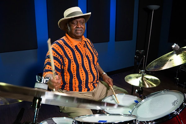 Bernard Purdie is one of the most famous and talented drummers of all time, known for licks like the Purdie Shuffle