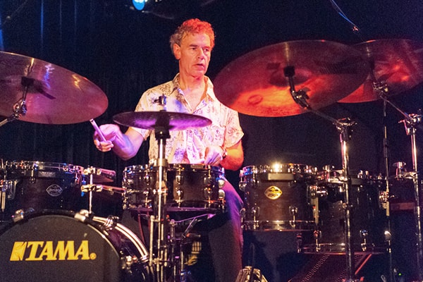Bill Bruford has had an illustrious career as a professional drummer for various bands such as Yes