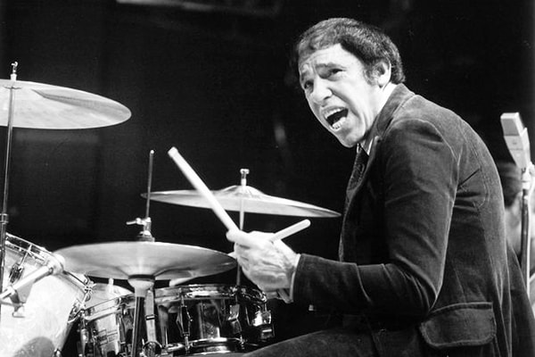 Buddy Rich is one of the most celebrated drummers of all time