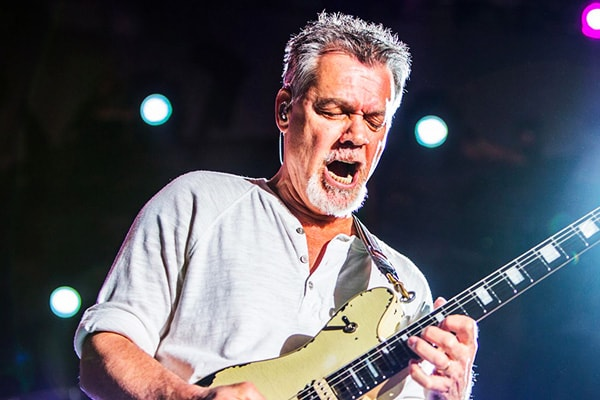 Eddie Van Halen is a top guitarist of all time, without a doubt