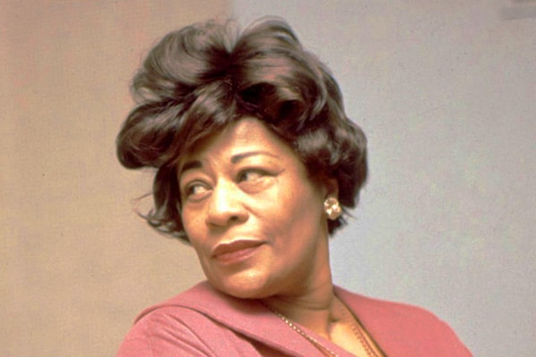 Though many these days don't know of Ella Fitzgerald she was and is one of the best vocalists of all time