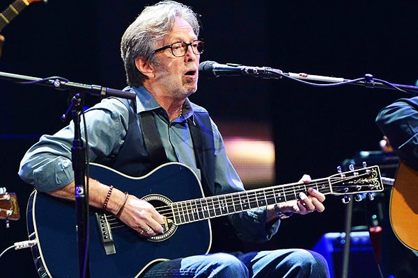 Eric Clapton is easily one of the most well known guitar players and is one of the most talented