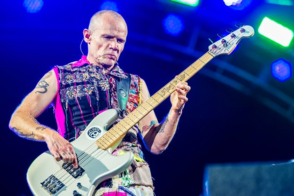 The bassist Flea of the Red Hot Chili Peppers has proven time and again that he is one of the best bass guitar players of all time
