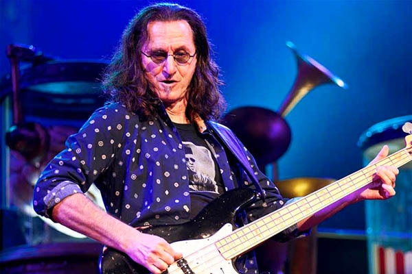 Geddy Lee of Rush is one of the most skilled bassists ever