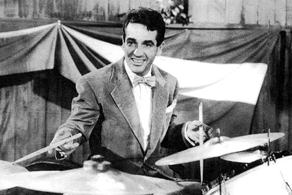Gene Krupa left his mark in music history as a very skilled drum player