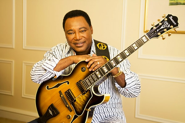 George Benson is a runner up for the top guitar players in the world