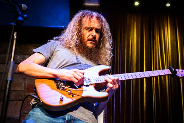 The best guitarist of all time is Guthrie Govan