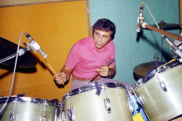 Hal Blaine is one of the top drummers in music history