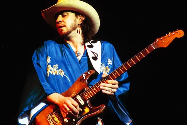 Stevie Ray Vaughan is one of the best guitar players in the world