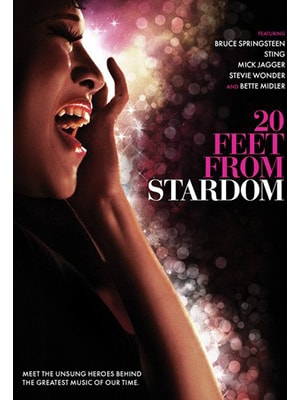 20 Feet From Stardom is a documentary about the background singers who tour with some of the largest and most popular music acts in the world