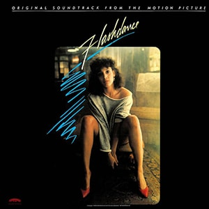 Flashdance has one of the most exciting soundtracks of any movie ever. When you hear it you can envision the scenes they come from.