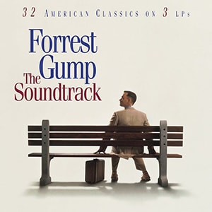 Forrest Gump had one of the best movie soundtracks of all time. It's 3 LPs including 32 classic songs that everyone recognizes and loves.