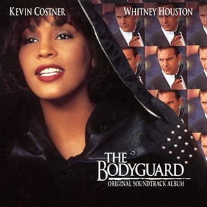 Whitney Houston's work on The Bodyguard soundtrack was so astounding that it has reached #5 on the best-selling albums list