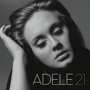 Adele's 21 was only her second album but it quickly climbed the charts with some great singles, making it one of the highest-selling albums ever.