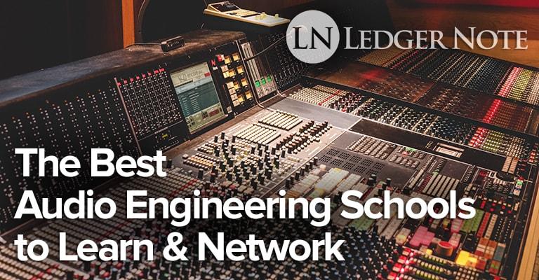 best audio engineering schools