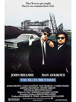The Blues Brothers is the best movie about music.