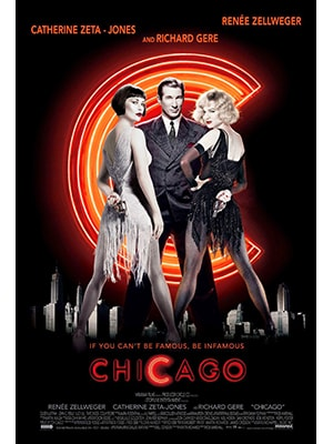 If you're looking for one of the top musicals with a great cast, look no further than Chicago. It has an intriguing story line too.