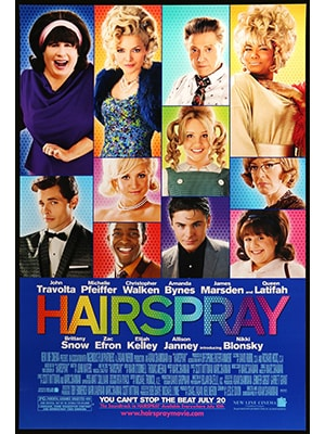 Hairspray is shown as a pretty friendly and colorful musical but has a fairly touchy story line.