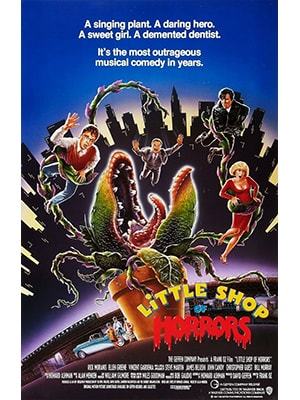 Little Shop of Horrors is probably the musical with the most creative script and characters possible.