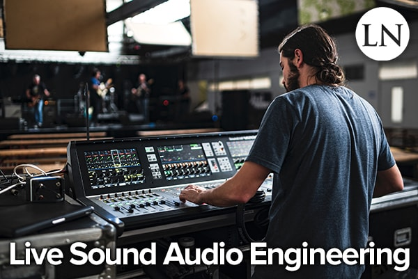 live sound audio engineer
