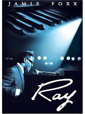 Ray is a music movie about Ray Charles starring Jamie Foxx