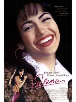 Selena is a movie about music starring Jennifer Lopez about the life of singer Selena