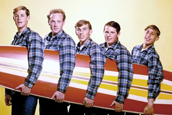 Even still The Beach Boys are considered one of the top bands of all time.