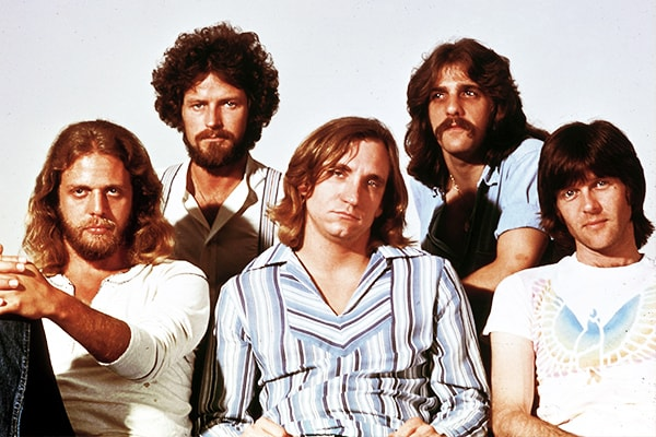 The Eagles have the number-one and number-three best selling album of all time, earning them a spot as a best band of all time.