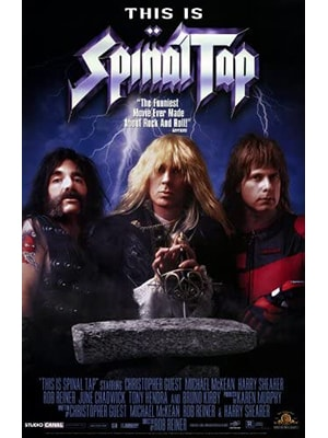 This is Spinal Tap is a rockumentary and one of the best and funniest music movies you'll ever see