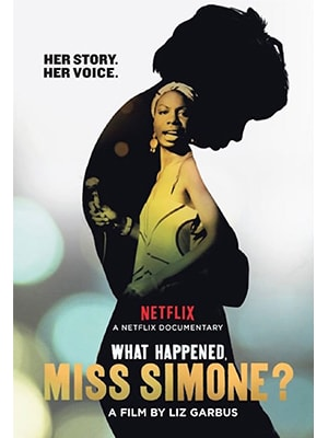 What Happened Miss Simone is about the life of American singer Nina Simone. It's an eye opening music documentary that gives a lot of insight into the career, life, and personality of Simone.