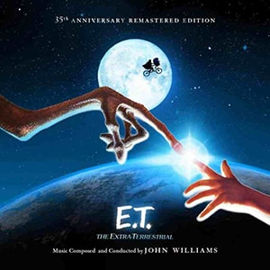 The E.T. The Extraterrestrial movie score composed and conducted by John Williams is a masterpiece of songwriting.