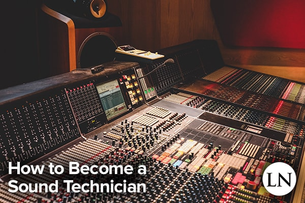 how to become a sound technician
