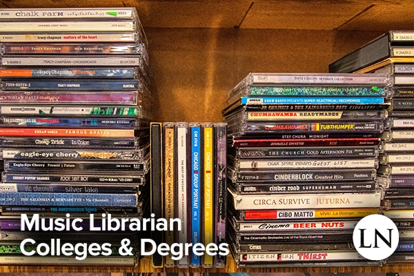 music librarian degree