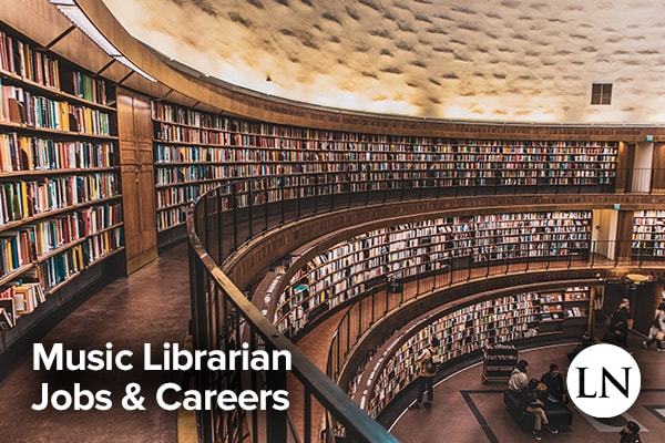 music librarian jobs