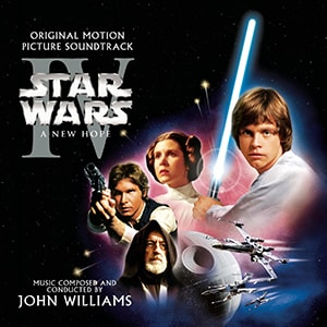 The Star Wars A New Hope features music composed and conducted by the great John Williams, who's created many of the entries on this list of the best movie scores of all time.
