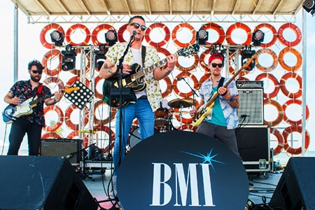 The BMI Stage at the 2017 Hangout Music Festival