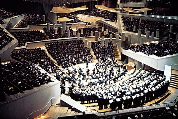The Berlin Philharmonic is one of the world's greatest orchestras and is based out of Germany.