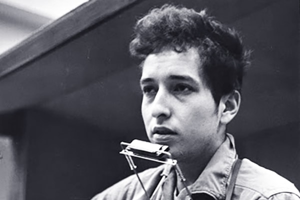 Bob Dylan is known more for his songwriting and vocals, but he's an accomplished and influential harmonica player in his own right.
