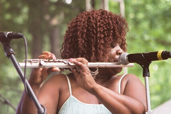 Bobbi Humphrey plays jazz fusion, soul-jazz, and funk flute. She's known for her time with Blue Note Records.