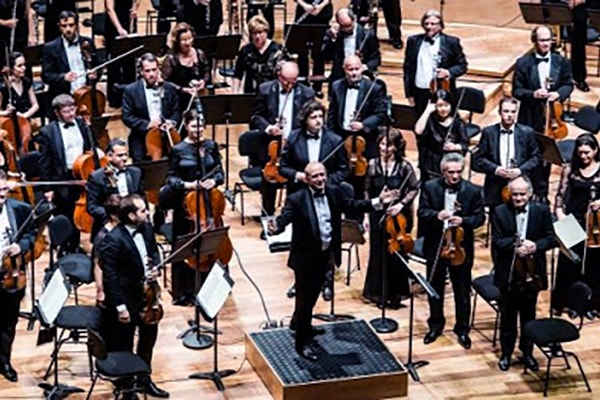 The Budapest Festival Orchestra is centered in Hungary and recruits the country's very best young instrumentalists and musicians.
