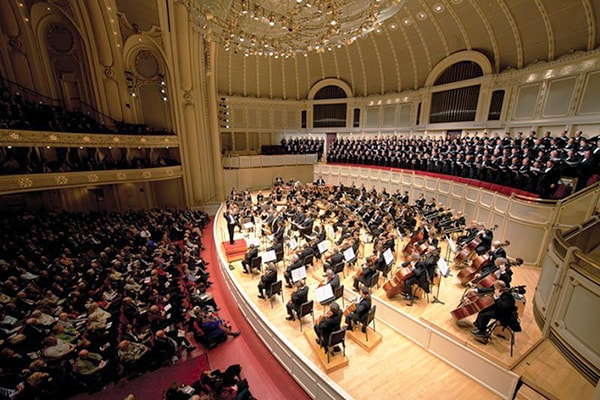 The Chicago Symphony Orchestra is not only one of the greatest orchestras but give a lot of time and money to volunteer groups.