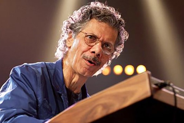 Chick Corea is known for his work with Return to Forever and Miles Davis and is easily one of the greatest jazz keyboardists ever.