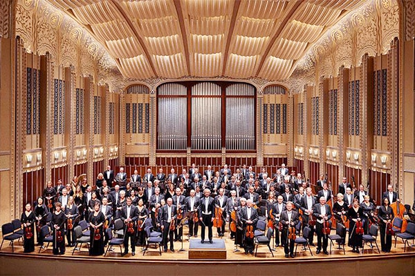 """The Cleveland Orchestra from Ohio is also one of the """"Big Five"""", containing members from all over the world."""