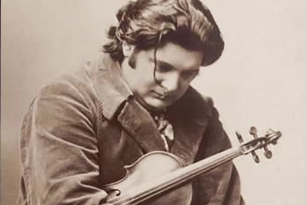 Eugene-August Ysaye was so good he become principal violinist of the Berlin Philharmonic. He's known as the King of Violin.